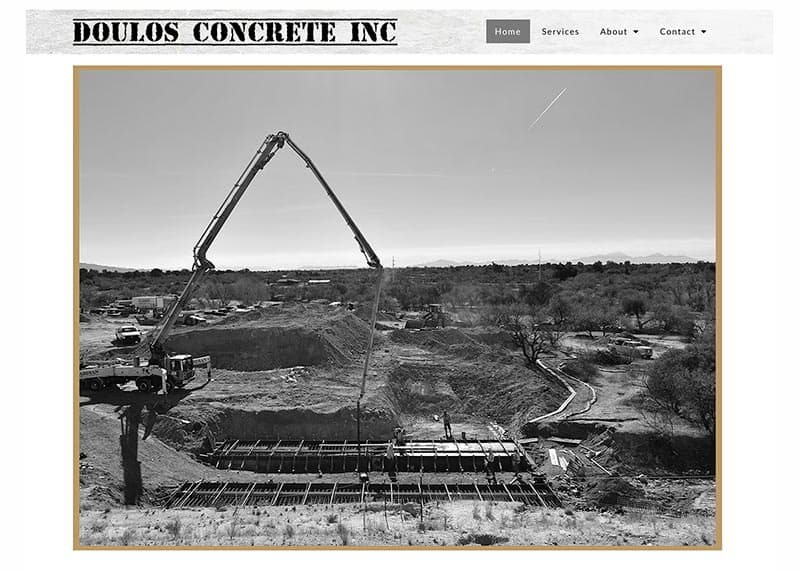 Doulos Concrete New Website